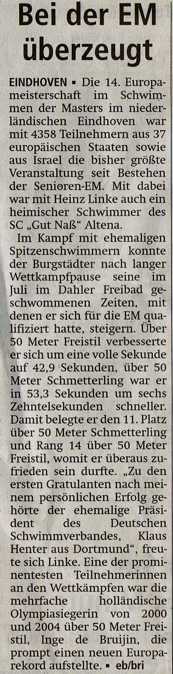 Altenaer Kreisblatt 10.09.2013